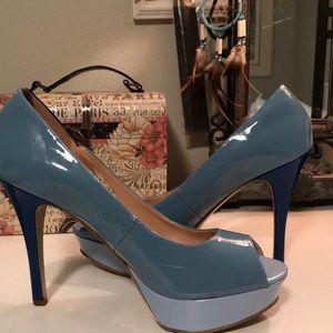 Marc Fisher Heels Blue Stillettos